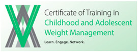 Certificate of Training in Childhood and Adolescent Weight Management