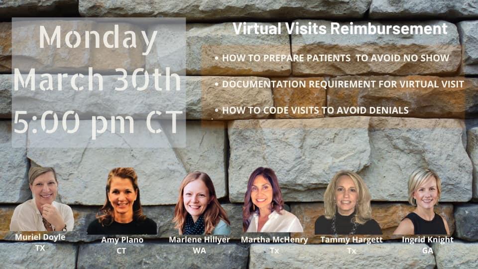 Nutritionist virtual Visits Reimbursement